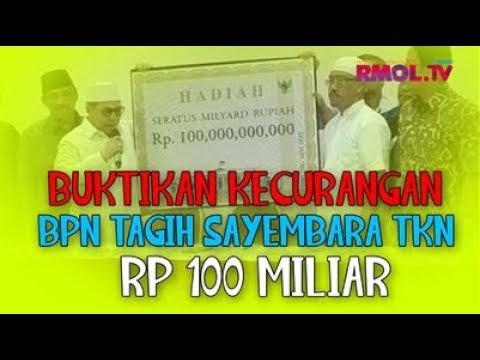 Buktikan Kecurangan, BPN Tagih Sayembara TKN 100 Miliar