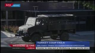 Attempted coup in Turkey fails