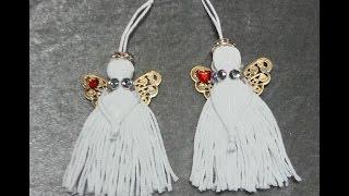 DIY~Make Adorable Tassel Angel Ornaments!