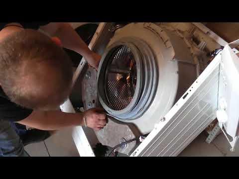 Сборка бака стиральной машины Vestel, Вестел