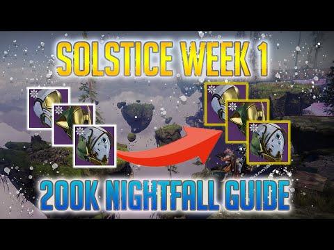 Destiny 2: Solstice 2019 | 200K Nightfall Score Week 1 Guide