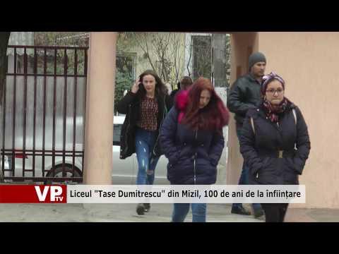 """Liceul """"Tase Dumitrescu"""" din Mizil, 100 de ani de la înființare"""