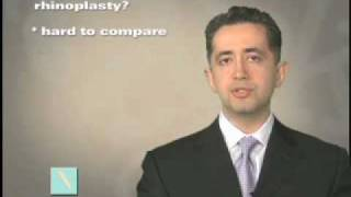 What is the cost of a rhinoplasty?