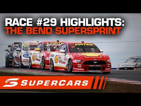 2020年 SUPERCARS OTRザベンド500 スーパースプリント#29決勝レースハイライト動画