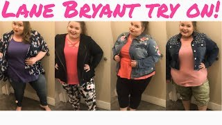 Lane Bryant spring 2018 try on - Video Youtube