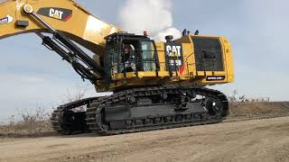 Download Video Cat 6015B Excavator Fitting The Bucket And The First Loads - Sotiriadis Brothers MP3 3GP MP4