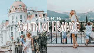 HOW TO SPEND A WEEK IN THE SOUTH OF FRANCE AD   KATE MURNANE