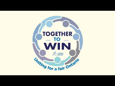 Stronger together, together to win!