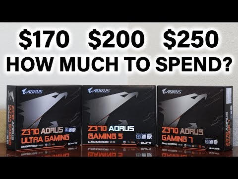 How Much Should You Spend on a Z370 Motherboard?