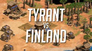 BoA TyRanT vs Finland - Complete Bo5 with KillerB