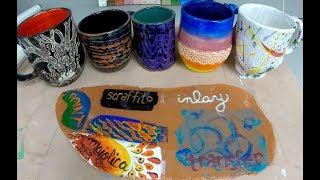 Ceramics 101: Underglaze Techniques