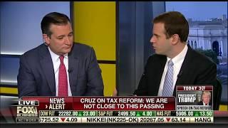 Sen. Cruz on Mornings With Maria - September 27, 2017