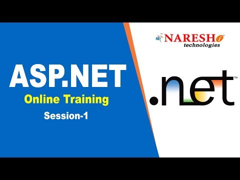 Asp.Net Online Training Demo Session 1 - YouTube