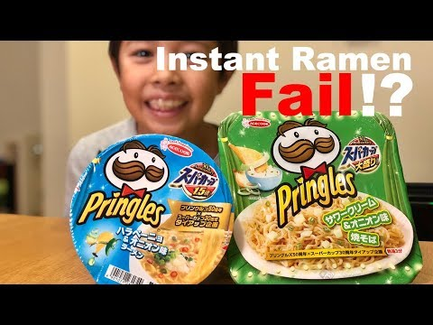 New PRINGLES RAMEN In Japan! | Weird Japanese Food Review