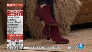 HSN   Lucky Brand Footwear Premiere 09.26.2016 - 12 AM