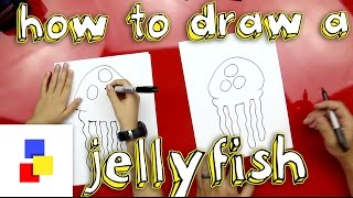 How To Draw A Jellyfish From SpongeBob
