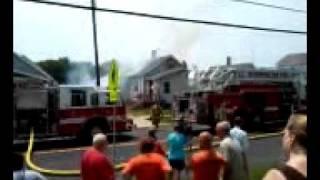 CIFN 6/9/11 Fire in Bloomington, IL
