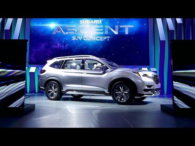 "Subaru Premieres ""SUBARU ASCENT SUV CONCEPT"" at the 2017 New York International Auto Show"