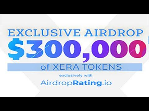 Campanha de Airdrop XERA no valor de U$300,000 Dólares . IMPERDÍVEL !