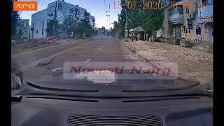 На перекрестке в Николаеве столкнулись два «БМВ». ВИДЕО