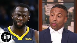 Boxer And Warriors Fan Andre Ward Reacts To Draymond Green's Exclusive Interview | The Jump