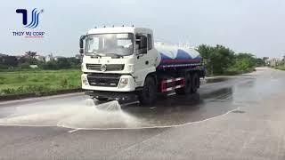 Xe phun nước rửa đường Dongfeng 13m3 giá bán cực tốt