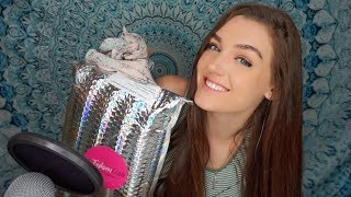 ASMR UNBOXING (Tapping, Crinkling & Whisper Tingles)