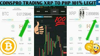 COINSPRO BASIC TRADING XRP to PHP TUTORIAL and Reviews 2019 TAGALOG, coins.ph