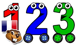 """Numbers 1 to 10 Chant"" - (French) Learn to Count English Numbers, Toddler Learning Nursery Rhymes"