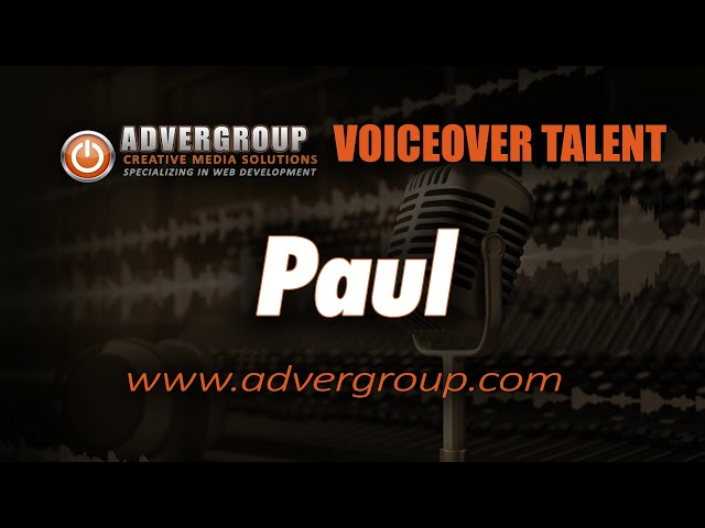 PAUL Male VOICEOVER  ..
