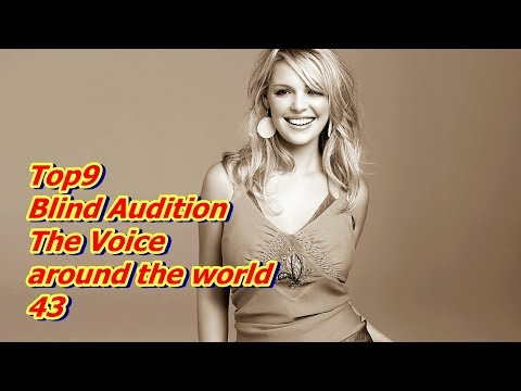 fb4yt - Top 9 Blind Audition (The Voice around the world 43