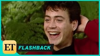 FLASHBACK: Robert Downey Jr. is Incredibly Bashful in 1987 Interview: 'Actors are so Insecure'
