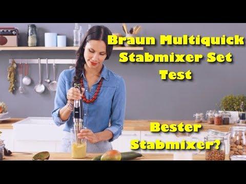 Braun Multiquick 9 MQ 9045X Stabmixer Test - Bester Stabmixer?