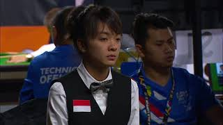 KL2017 29th SEA Games | Billiards & Snooker - Women's Singles 9 Ball Pool PRE-QF - INA 🇮🇩 vs VIE 🇻🇳