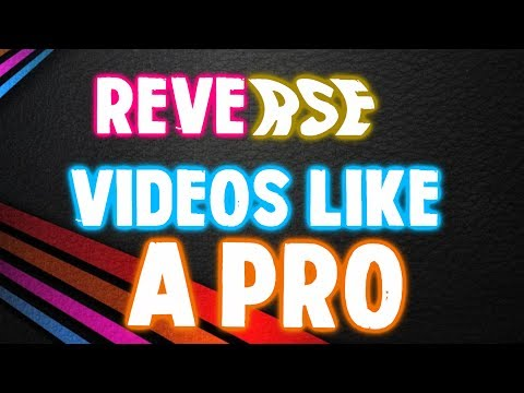 How To Reverse  A Video In Sony Vegas Pro 13