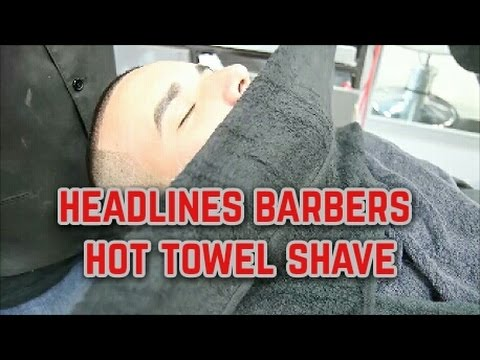Headlines Barber Shops Signature Hot Towel Shave | Tampa Promo