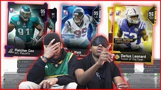 BLINDFOLDED Draft! Who Ended Up With The WORST Team?! - MUT Wars Ep.63
