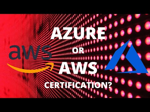 Azure or AWS Certification Path - YouTube