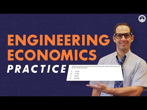 Engineering Economics (Practice Problem and Solution) | FE Exam ...
