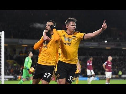 Вулверхэмптон - Вест Хэм 3-0 Обзор 29.01.19 АПЛ 2019 24-тур