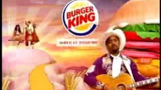 Burger King TV Ad  Tender Crisp Sandwich with Hootie (Darius Rucker)