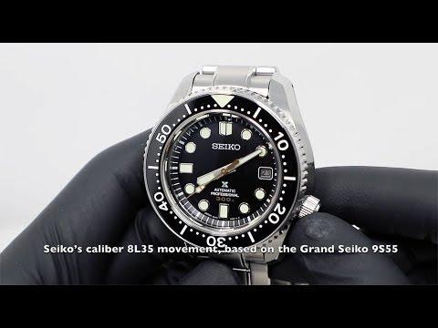 SEIKO PROSPEX MARINE MASTER 300M BLACK DIAL SLA021J1