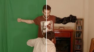 VENOM Hand Transformation (Fight Scene) 2018 | VFX Breakdown