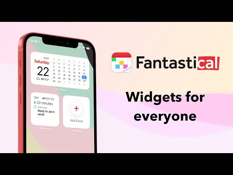 User Stories: See Your Week at a Glance with Widgets