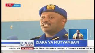 Inspekta wa Polisi Hillary Mutyambai azuru Kisumu