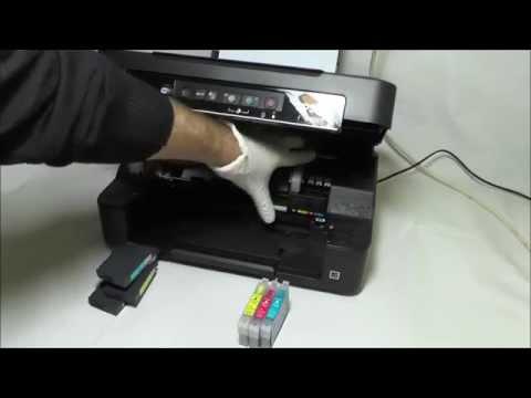 Cartucce ricaricabili Installazione sulla stampante Epson XP-215