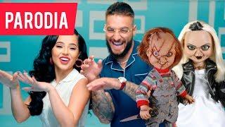 Becky G, Maluma   La Respuesta (Official Vídeo)   Parodia EddieMew