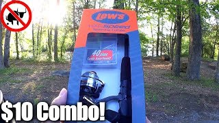 A Lew's Combo for $10? Cheap Walmart Combo Fishing Challenge! - Video Youtube