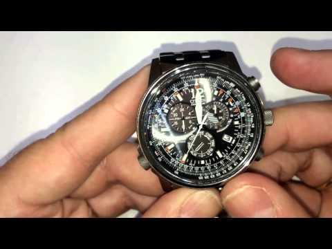 Reloj Citizen Radiocontrolado Eco Drive AS4020 y AS4050 en acero y titanio  SM Joyeros
