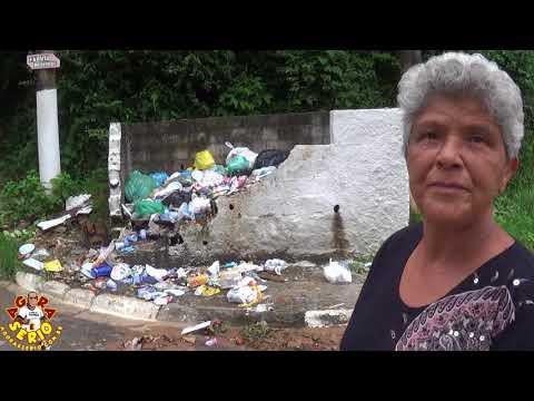 Mini -Lixão de Verdade no Bairro do Despézio em São Lourenço da Serra incomoda Moradores